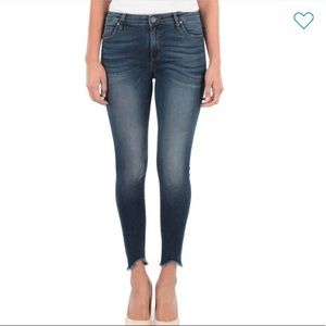 "NWT Kut from the Kloth ""Connie"" ankle skinny jeans"